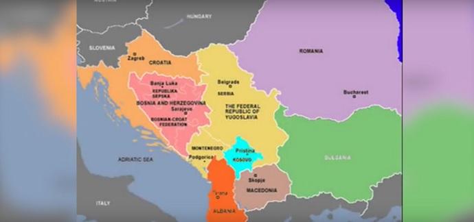 mapa alb